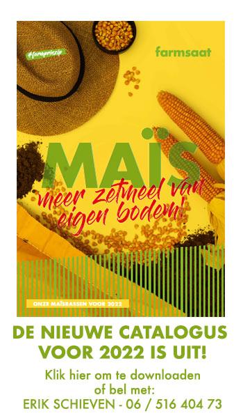 De nieuwe maiscatalogus voor 2022